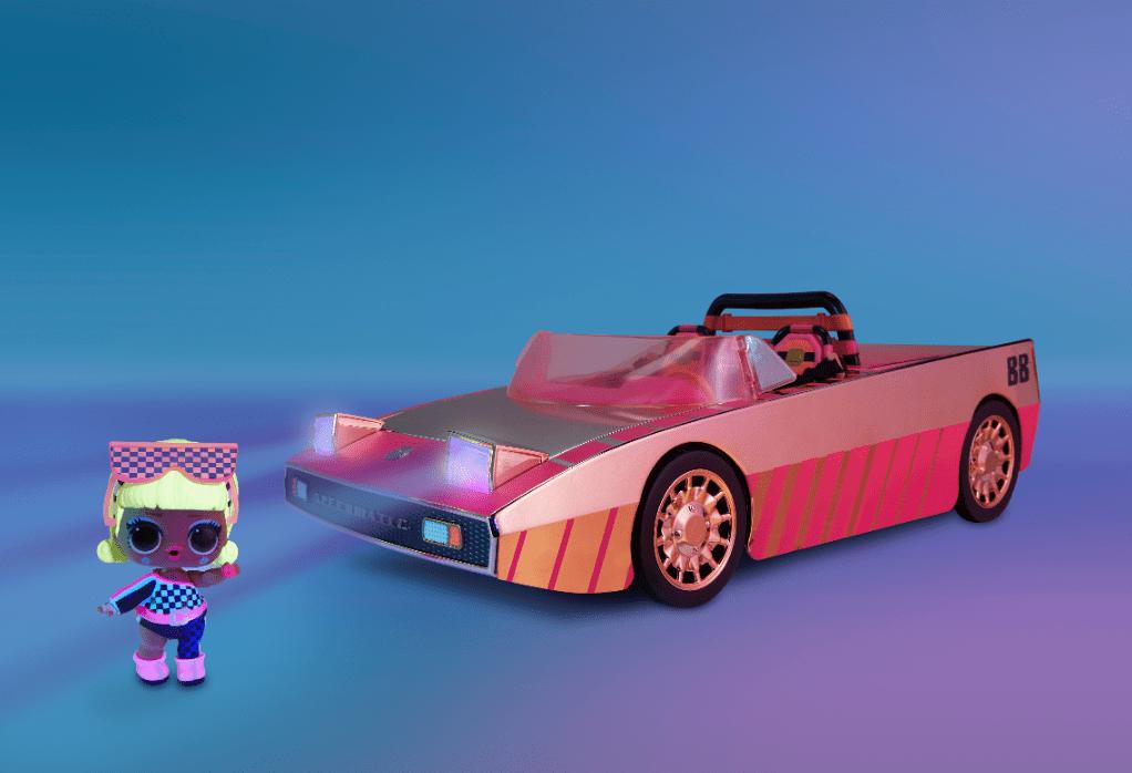 Svítící auto LOL