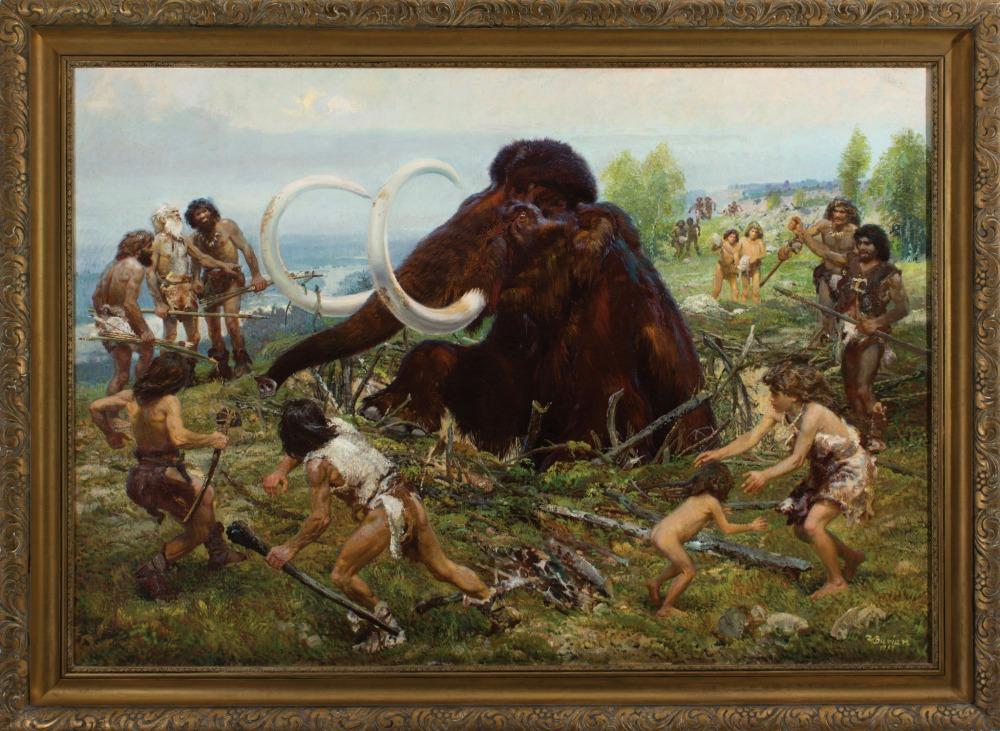 Výstava Lovci mamutů v Hořicích