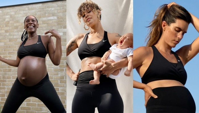 Nike má kolekci pro těhotné. Časomíra nejde na 9 měsíců stopnout