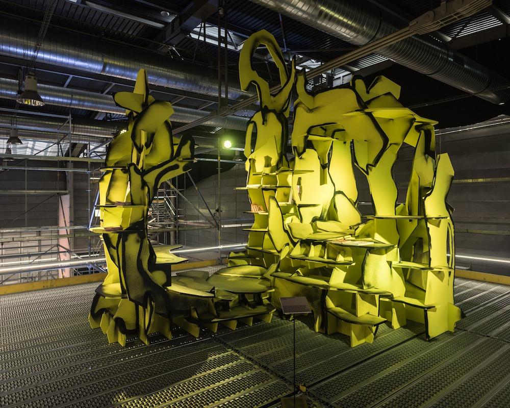 Instalace designérů z Designbloku na výstavišti