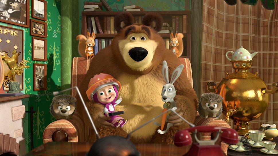 Film Máša a medvěd je od září v kinech a hodně se v něm zpívá