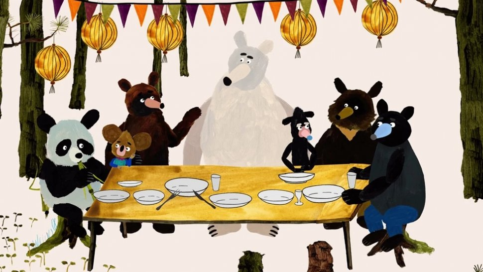 Film Mlsné medvědí příběhy je i pro nejmenší