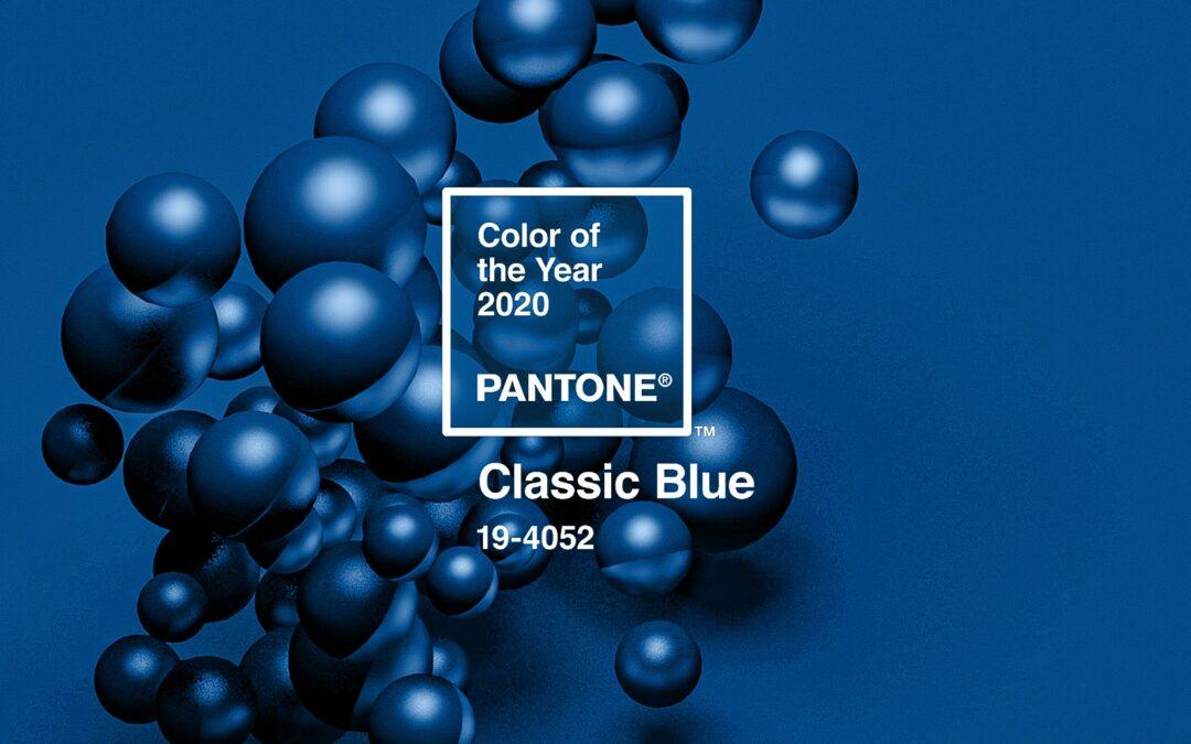 Nadčasová modrá. Doplňky do pokoje v barvě roku