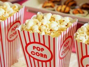Popcorn v kine