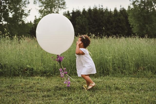 #zasedoma – Jednoduché hry s balonky pro jedno nebo dvě děti