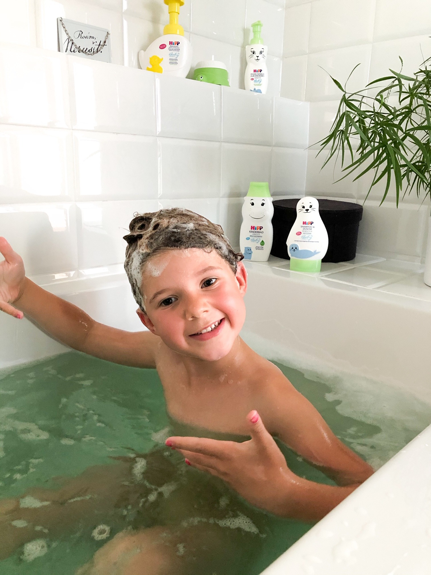 Testujeme dětskou kosmetiku HiPP ZOO - naše zkušenosti