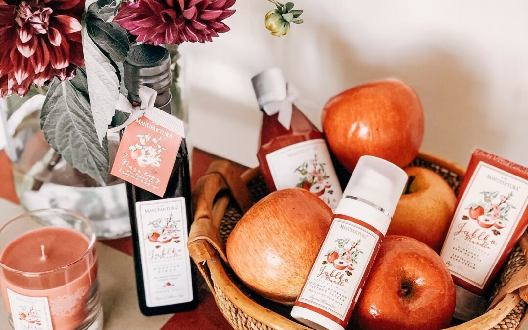 Manufaktura má jablko, Garnier levanduli, Oriflame zimolez, Nivea pomeranč