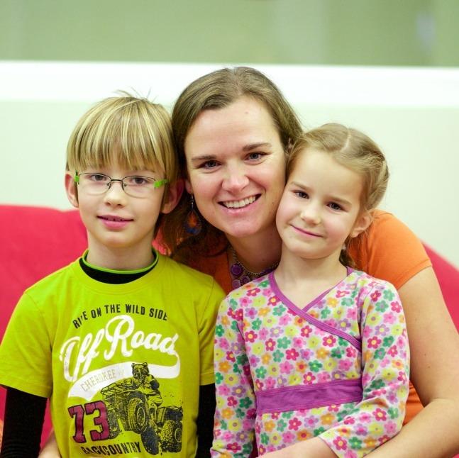 """""""Neměla jsem cíle, šla jsem za intuicí."""" """"Montessori"""" Lucie o podnikání i životě s pěti dětmi"""