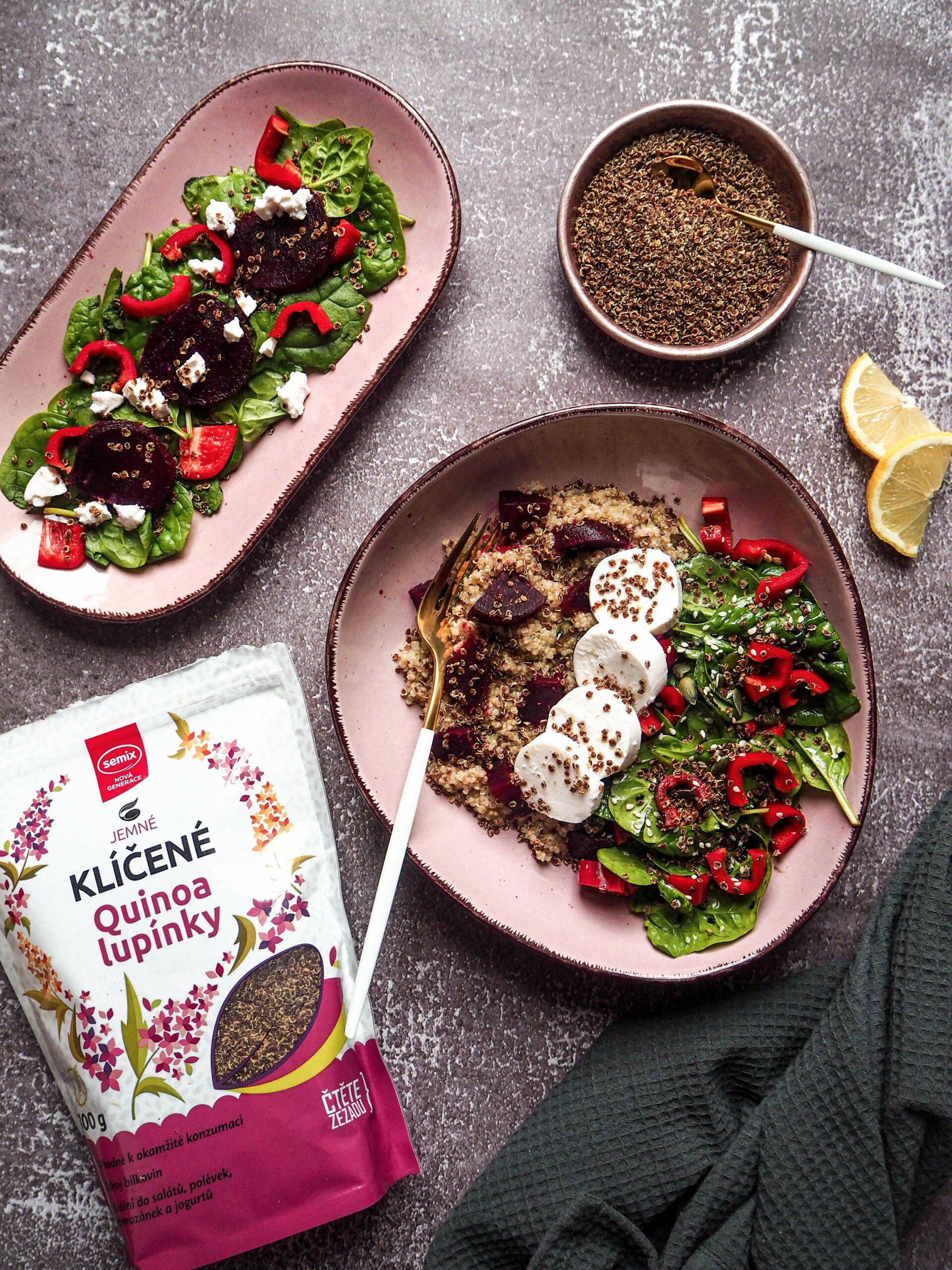 Recepty s červenou řepou - k snídani smoothie, k svačině pomazánku, k obědu salát